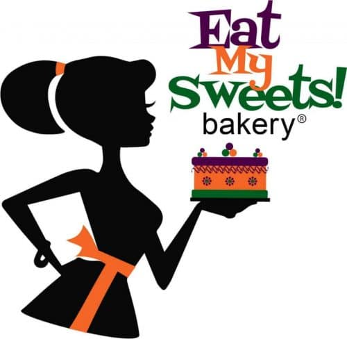 Eat My Sweets Bakery Logo