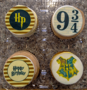 Harry Potter Cupcakes (Edible Image)