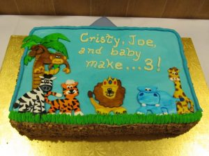 Baby Shower Cake. Eat My Sweets Bakery.