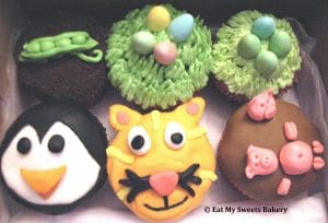 Beans, Penguin, Cat, Pigs & Easter by Eat My Sweets Bakery