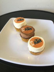 Edible Image Corporate Logo Cupcake from Eat My Sweets Bakery