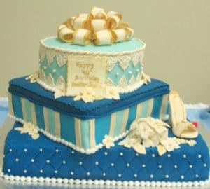 3-Tier Fondant Birthday Cake