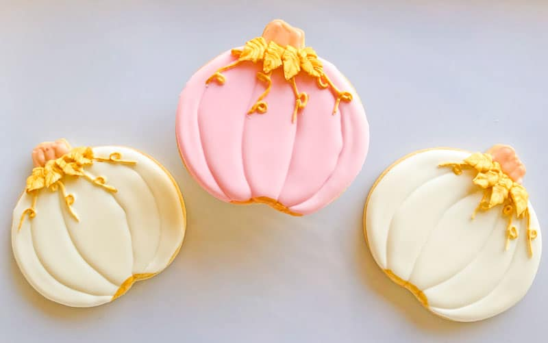 Pastel Pumpkins flooded cookies from Eat My Sweets Bakery